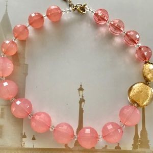 Beautiful peach necklace bought at Ogilvy
